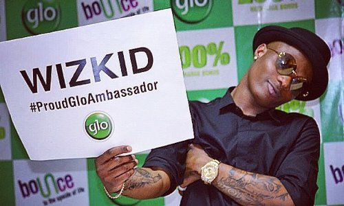 wizkid net worth - Once a glo ambassador