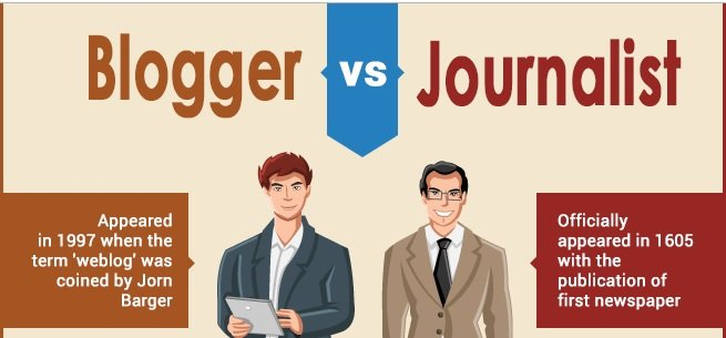 Oasdom blogger vs journalist the difference