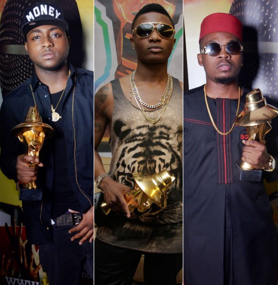 nigerian celebrities - davido wizkid olamide yemi alade celebrities in Nigeria