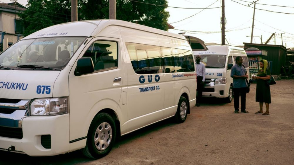 Guo motors - transport company in nigeria
