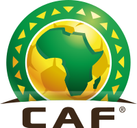 CAF logo - in partnership with 1xbet