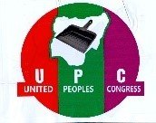 UPC political party leader and logo