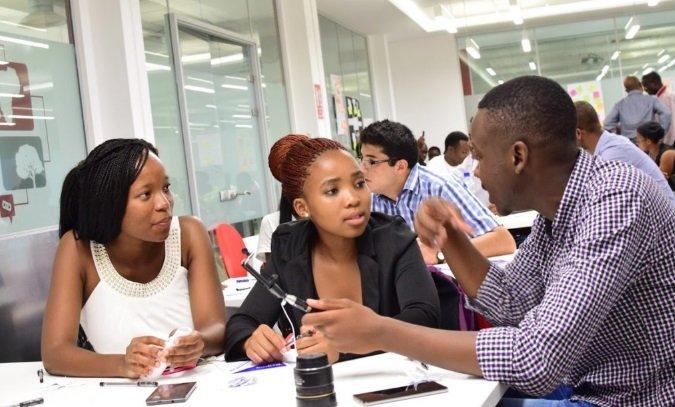 Youths in Nigeria school online