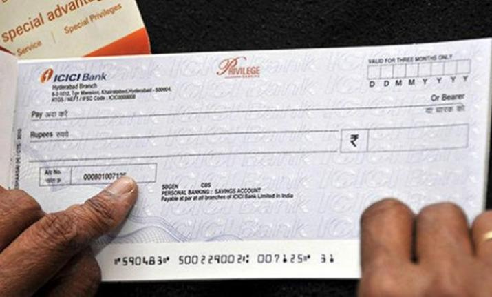 Cheques types of checks
