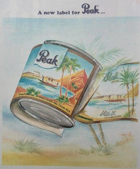 Naija Brands in the 1990s - Peak milk