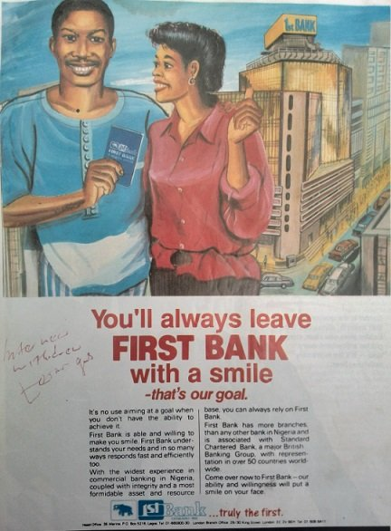 brands in Nigeria adverts in 1990