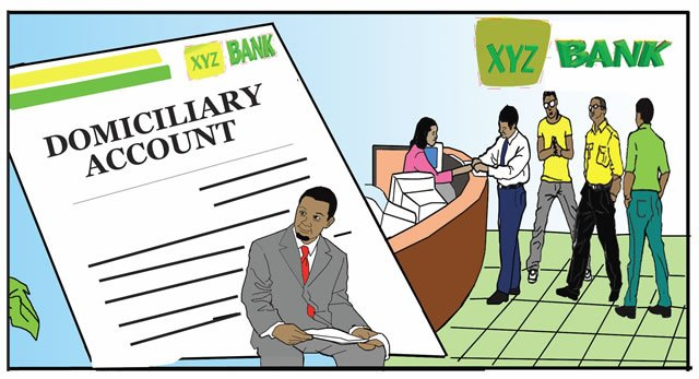 types account in Nigeria - Domiciliary account