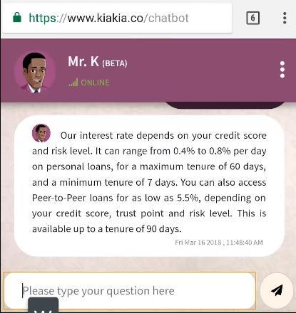 Get quick kiakia cash loans in Nigeria