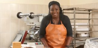 Woman baking - How to start bakery business in Nigeria from home