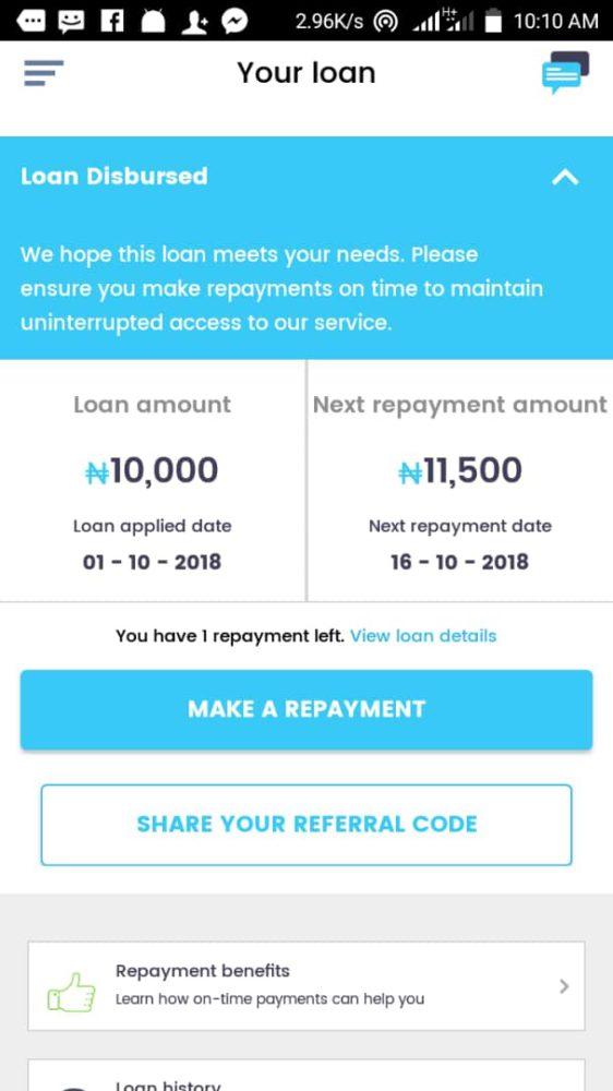 get loan