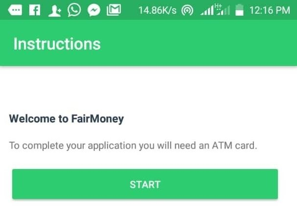 quick cash in Nigeria - fair money instant online loans
