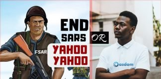 Which should end; SARS or Yahoo Yahoo? It's happening everywhere in Nigeria, everyone is talking about it, so, here's a debate on which should end.