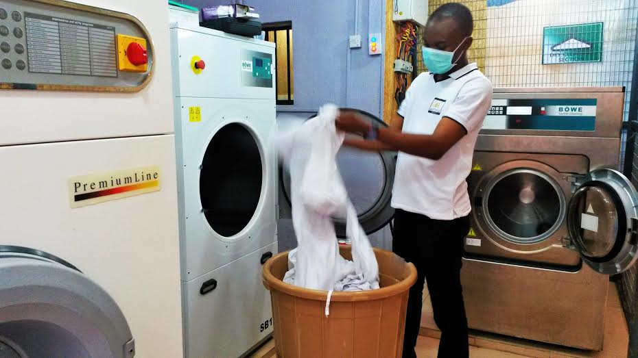 ritman laundry Nigeria dry cleaning business