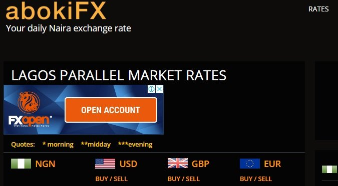 Abokifx naira to USD conversion rate - Euro to Naira