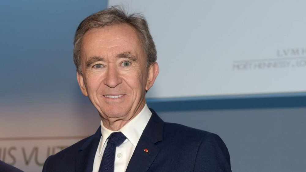 Bernard Arnault - on Forbes list of richest man in the world