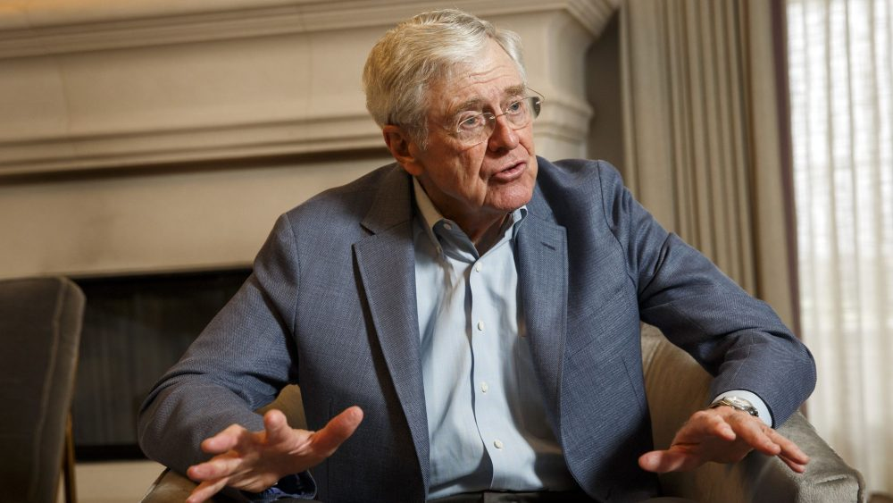 Charles Koch - wealthy business man in the United States