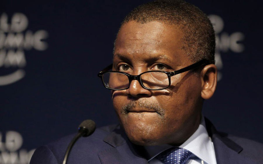 Most Richest man in Nigeria - Aliko Dangote