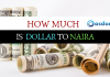 How much is Dollar to Naira exchange rate today? I mean 'what is the conversion of USD to NGN right now?' Check the latest conversion rate here