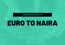 How much is Euro to Naira Today Black market
