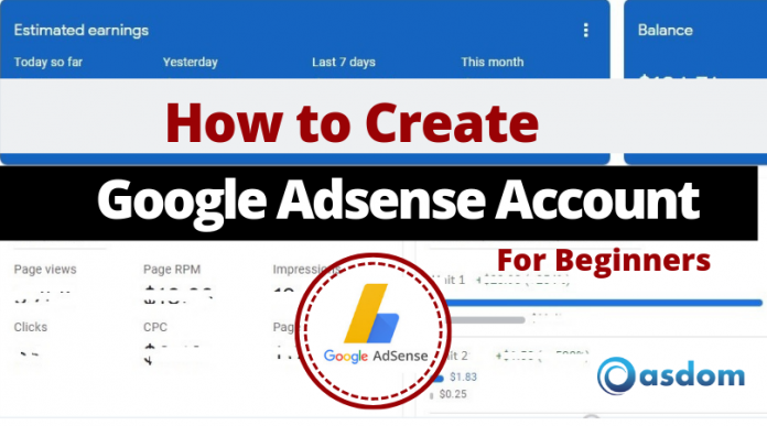 Are you a beginner with a fresh blog who wants to add Adsense to make money blogging? Here's a detailed guide on how to create Adsense account in no time