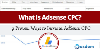 ways to increase your Google Adsense CPC
