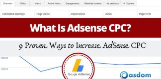 Oasdom How to Increase AdSense CPC