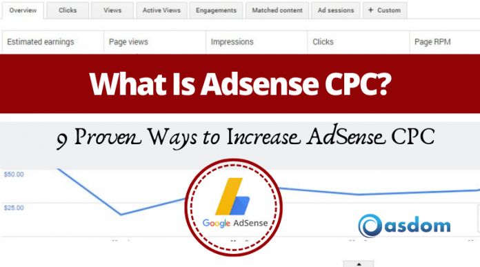 Looking for ways to increase your Google Adsense CPC? Understanding What CPC is could be your starting point. Here are 9 Proven ways to high Cost per click
