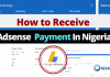 How to Receive Adsense Payment in Nigeria