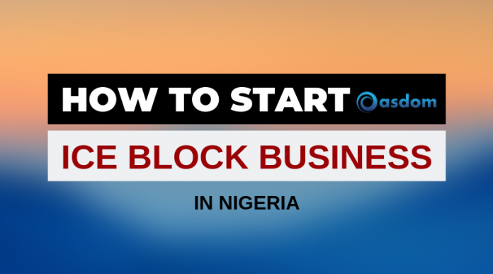 Oasdom How to start a profitable Ice block business in Nigeria today