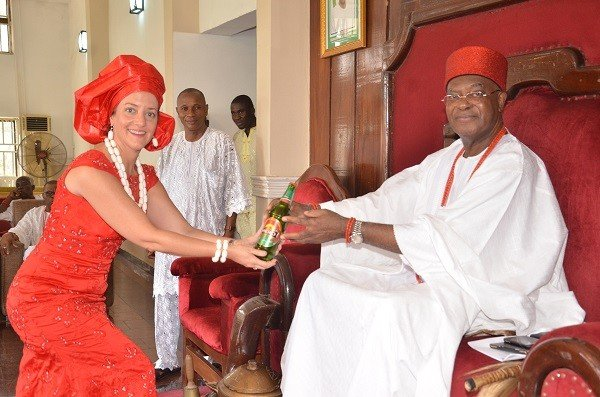King Obi of onitsha - richest traditional rulers in Nigeria