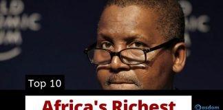 Oasdom The Richest man in Africa Top 10 richest men in Africa