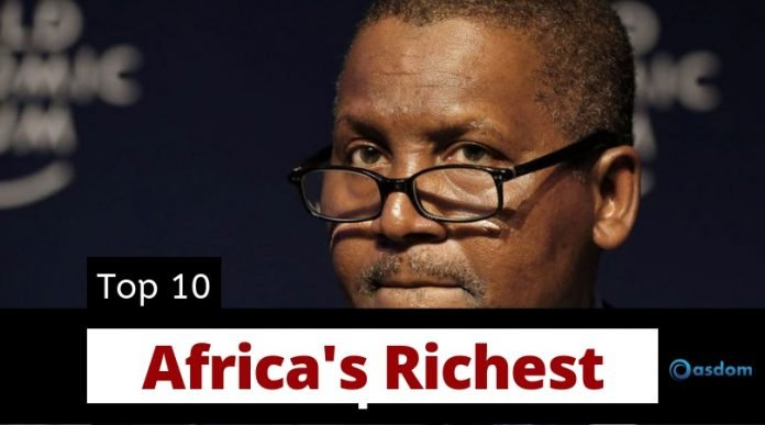 Oasdom The Richest man in Africa Top 10 richest men in Africa