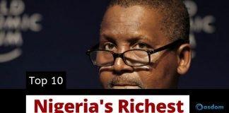 Top 10 Richest man in Nigeria - Richest people in Nigeria today