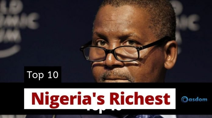 Top 10 Richest man in Nigeria - Richest people in Nigeria today
