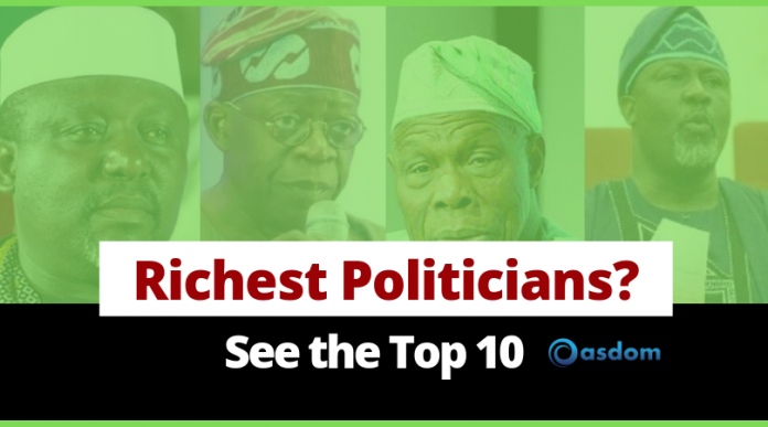Oasdom Top 10 richest politician in Nigeria forbes list Nigerian politicians