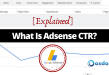 What is adsense CTR