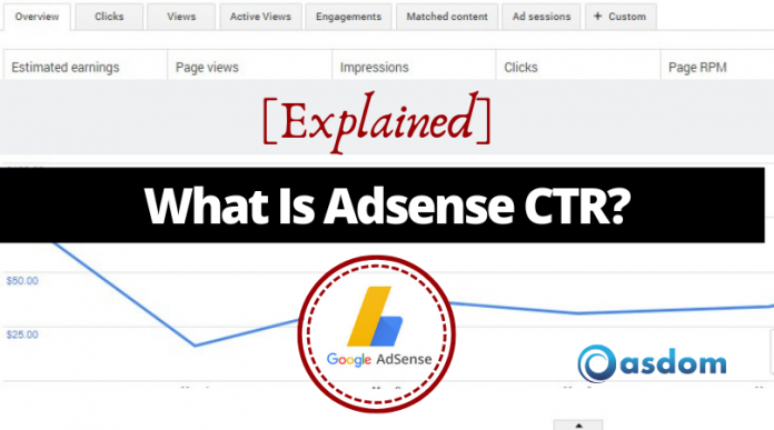 Oasdom What is adsense CTR