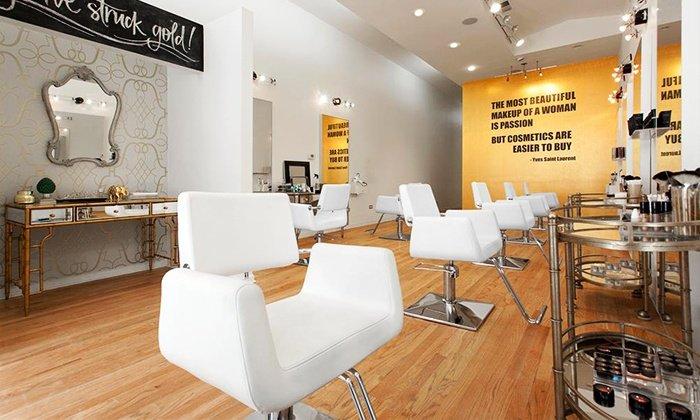 beauty salon shop interior design