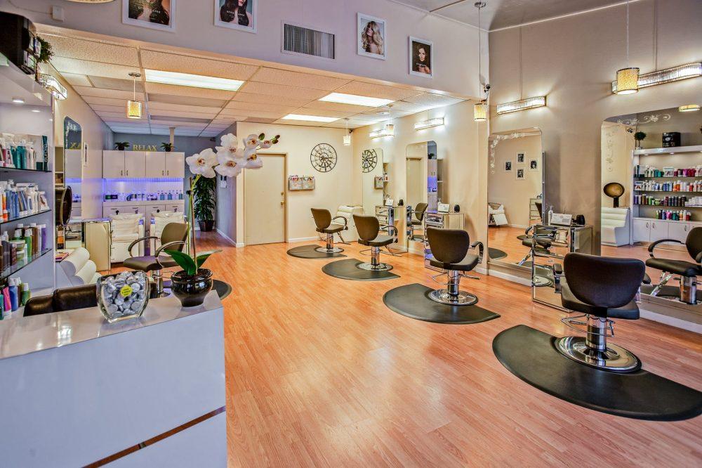 large scale beauty salon business
