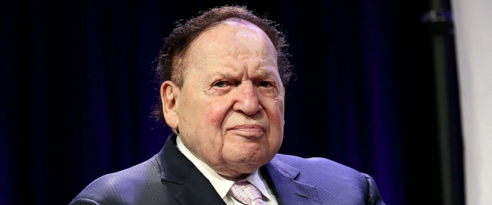 Sheldon Adelson - twentieth richest man in the world