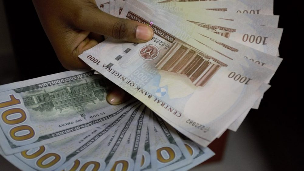 dollar to Naira today exchange rate black market