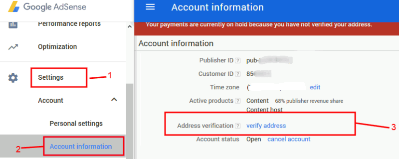 verify-adsense-address-Adsense-PIN