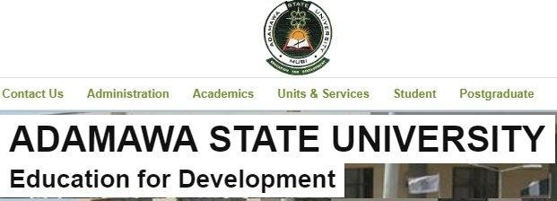 Adamawa state university courses