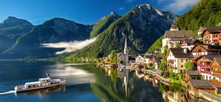 Austria - rich country in European continent