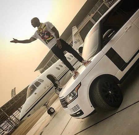 Davido private jet and car