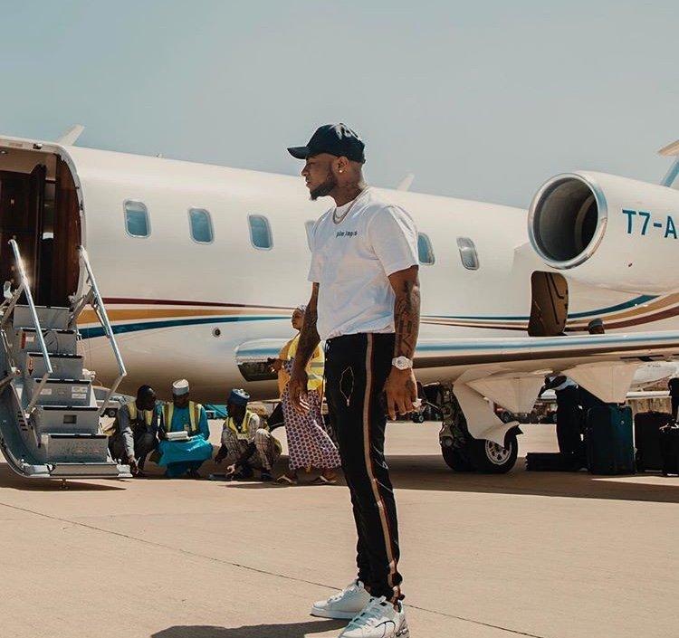 Davido private jet and net worth