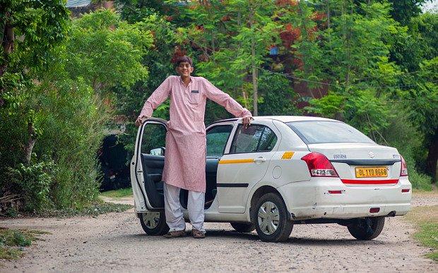 Dharmendra Pratap Singh - india's tallest man
