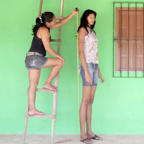 Elisany Silva tallest teenager in the world