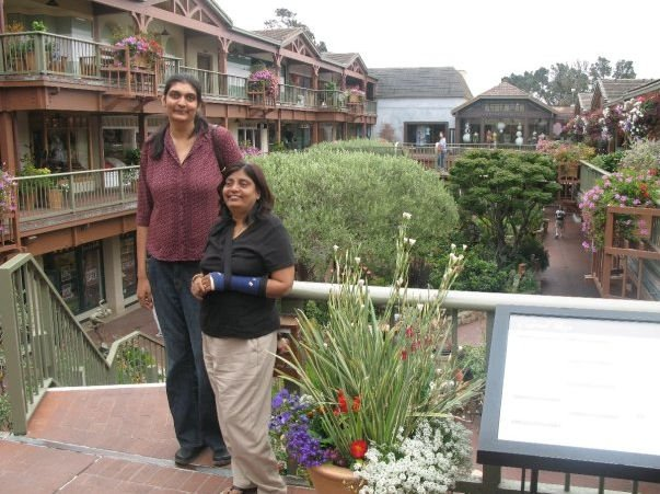 Gitika Srivastava tall woman