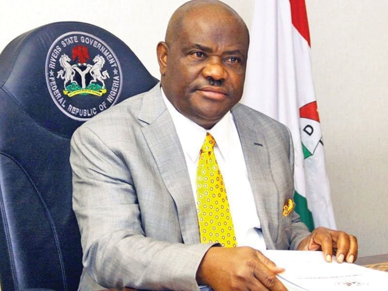 Governor Nyeson Wike - top ten richest governors in Nigeria
